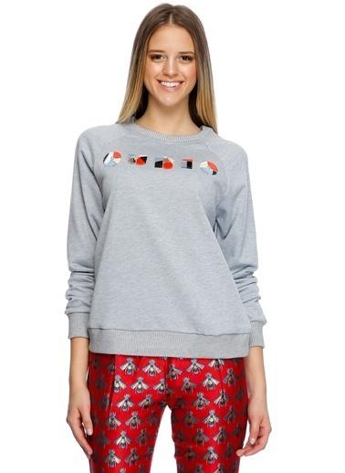 Cubic Sweatshirt Gri
